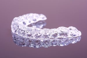brand new clear Invisalign aligners